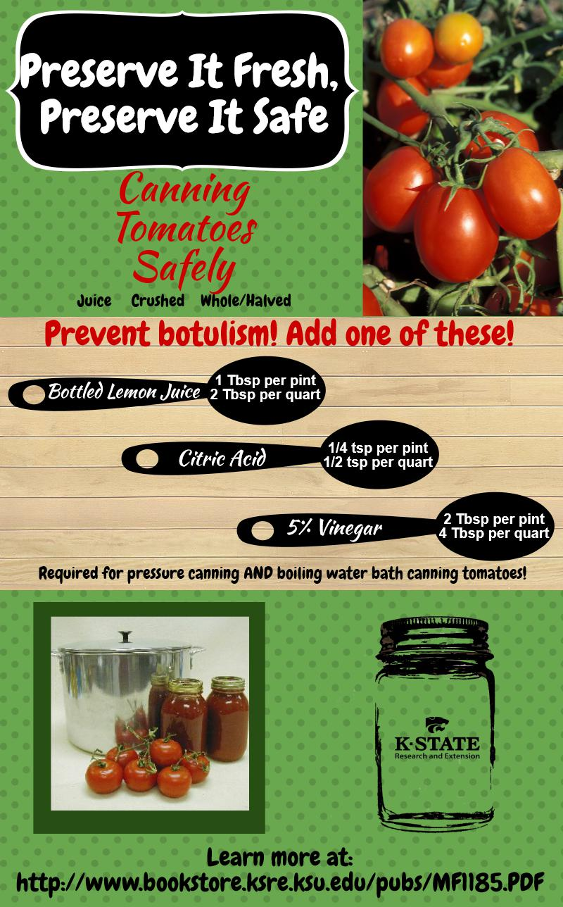 Safely Canning Tomatoes